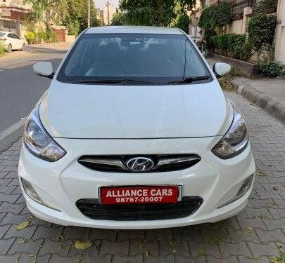 Used Hyundai Verna SX Diesel 2013 MT for sale in Ludhiana -4