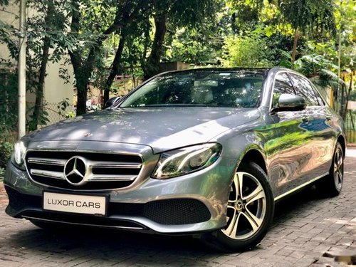2018 Mercedes Benz E Class E 220 d AT for sale in Pune