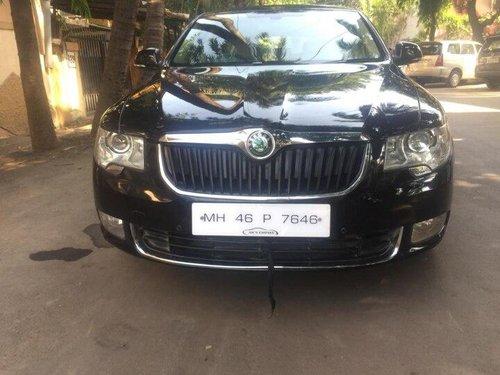 2012 Skoda Superb Elegance 2.0 TDI CR AT in Mumbai