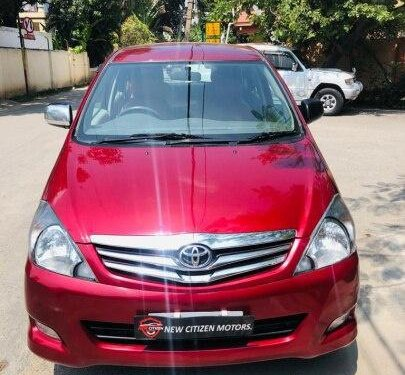 2011 Toyota Innova 2004-2011 MT for sale in Bangalore