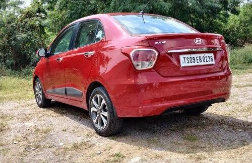 Used 2015 Hyundai Xcent 1.2 VTVT SX Option MT for sale in Hyderabad