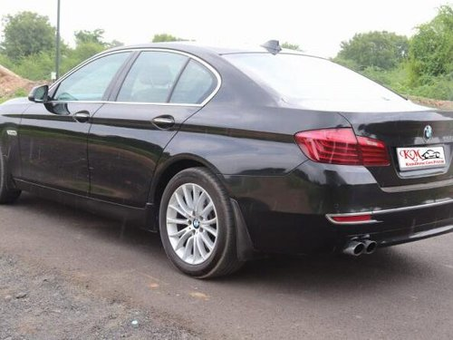 Used 2014 BMW 5 Series 520d Luxury Line AT for sale in Ahmedabad