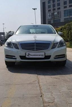 Used Mercedes Benz E Class 2012 AT for sale in New Delhi