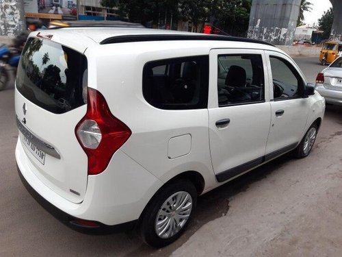 Renault Lodgy 110PS RxZ 7 Seater 2017 MT for sale in Chennai