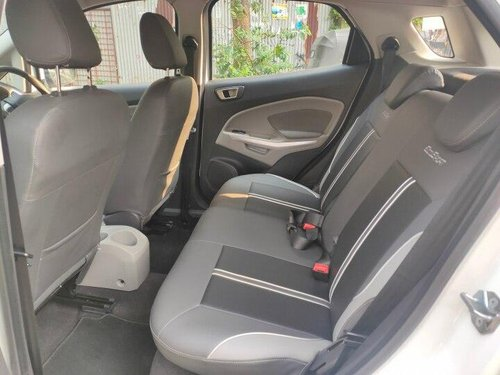 Ford EcoSport 1.5 Petrol Titanium 2017 MT for sale in Mumbai