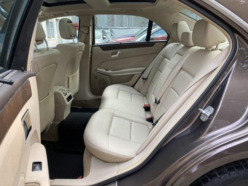 Used 2015 Mercedes Benz E Class AT for sale in Pune