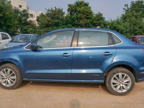 Used 2016 Volkswagen Ameo MT for sale in Hyderabad