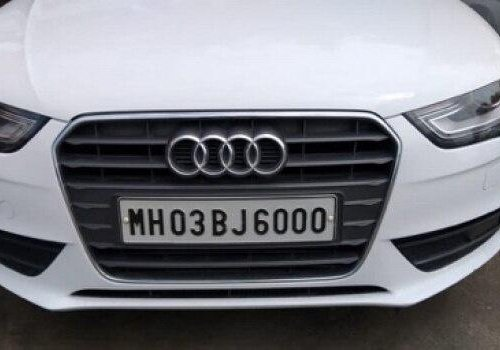 Used Audi A4 2013 AT for sale in Pune-0