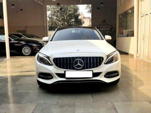 Used Mercedes Benz C-Class 2015 AT for sale in New Delhi