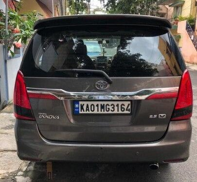 Used 2010 Toyota Innova MT for sale in Bangalore