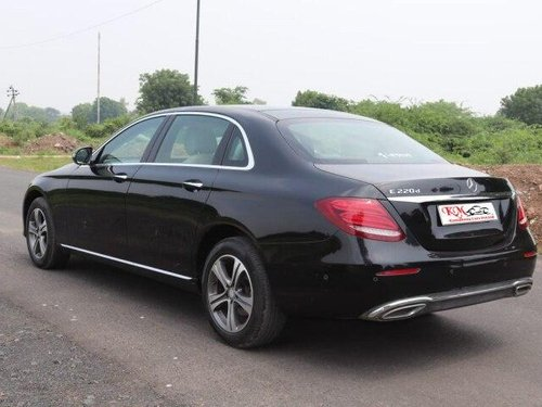 2017 Mercedes-Benz E-Class Expression E 220d AT in Ahmedabad