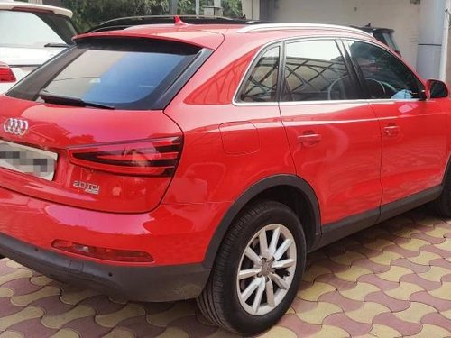 Used 2013 Audi Q3 2012-2015 AT for sale in Hyderabad