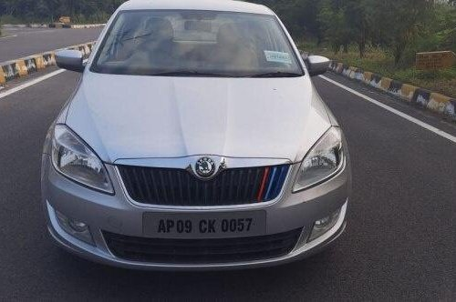 2012 Skoda Rapid 1.6 TDI Elegance MT for sale in Hyderabad