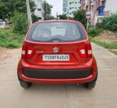 Maruti Suzuki Ignis 1.2 Alpha 2017 MT for sale in Hyderabad