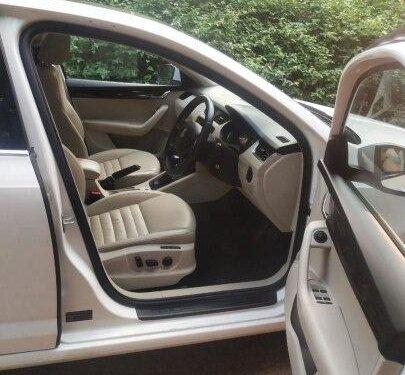 2015 Skoda Octavia Elegance 2.0 TDI AT for sale in Bangalore