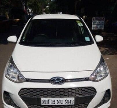 2017 Hyundai Grand i10 1.2 Kappa Sportz Option AT in Pune-9