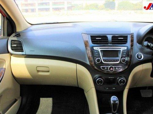 Used Hyundai Verna 2015 AT for sale in Ahmedabad