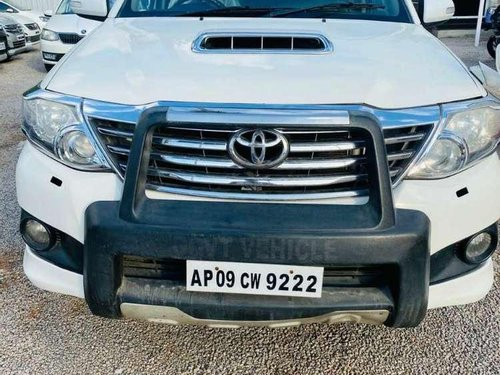 Used Toyota Fortuner 2014 AT for sale in Vijayawada