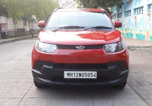 Used Mahindra KUV100 NXT 2017 MT for sale in Pune