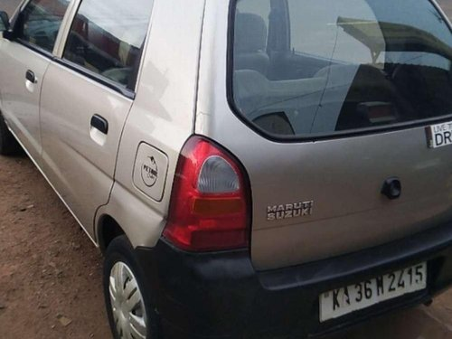 Used 2005 Maruti Suzuki Alto MT for sale in Bagalkot