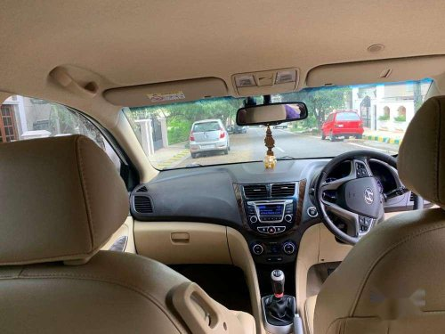 Used 2015 Hyundai Fluidic Verna MT for sale in Nagar