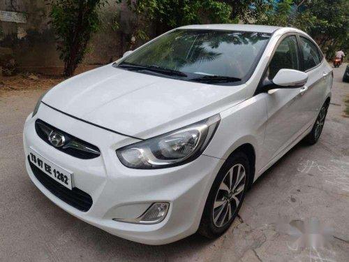 2014 Hyundai Fluidic Verna MT for sale in Hyderabad