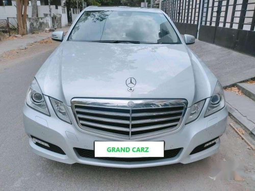 2010 Mercedes Benz E Class AT for sale in Chennai