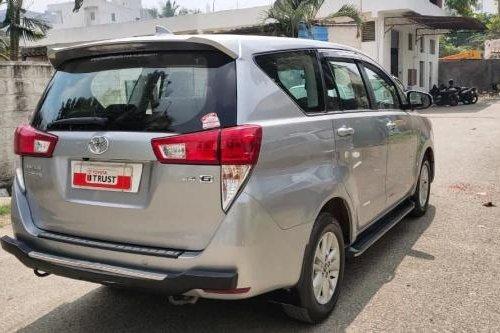 2018 Toyota Innova Crysta 2.4 GX MT in Bangalore