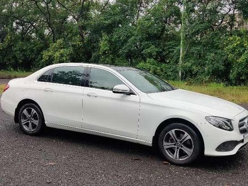 Used 2017 Mercedes Benz E Class AT for sale in Pune