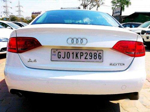 Audi A4 2.0 TDI (143bhp), 2012, Diesel MT for sale in Ahmedabad