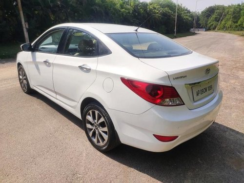 2013 Hyundai Verna SX CRDi AT for sale in Hyderabad