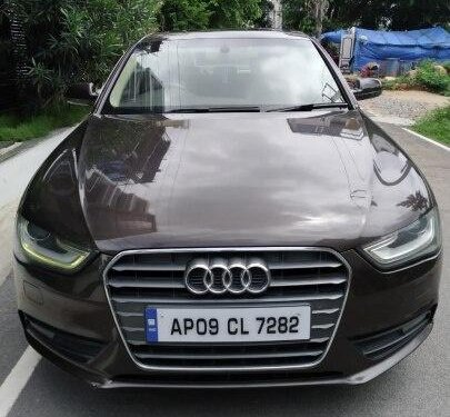 2012 Audi A4 New  2.0 TDI Multitronic AT in Hyderabad