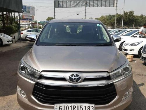 2016 Toyota Innova Crysta MT for sale in Ahmedabad