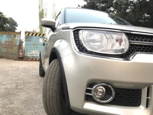 2017 Maruti Ignis 1.3 AMT Zeta AT for sale in Thane