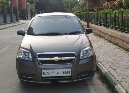 Used Chevrolet Aveo 2011 MT for sale in Bangalore