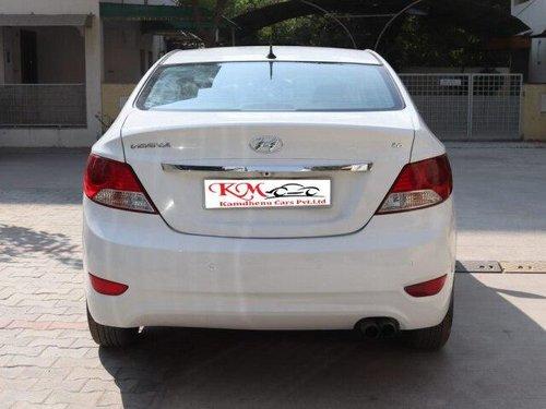 Used 2014 Hyundai Verna 1.4 EX MT for sale in Ahmedabad