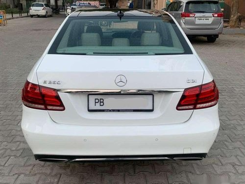 Used 2016 Mercedes Benz E Class AT for sale in Jalandhar