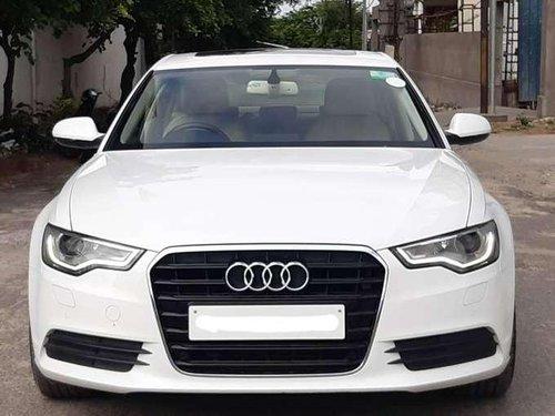 Audi A6 2.0 TDI Premium Plus, 2013 AT for sale in Hyderabad