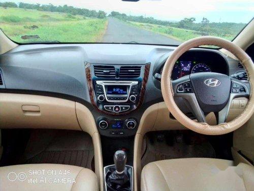 Used 2015 Hyundai Verna MT for sale in Kolhapur