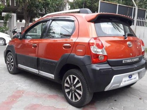Toyota Etios Cross 1.4L VD 2015 MT for sale in Coimbatore