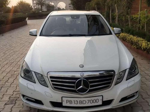 Used 2010 Mercedes Benz E Class AT for sale in Ludhiana