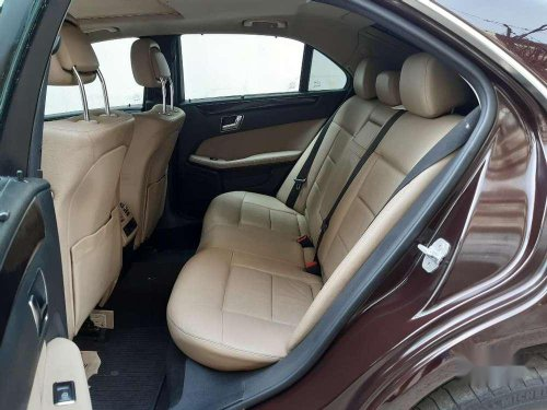 Used 2009 Mercedes Benz E Class AT for sale in Hyderabad