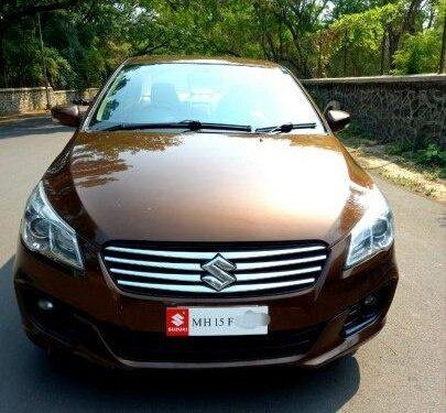 Maruti Suzuki Ciaz ZDi Plus 2016 MT for sale in Nashik