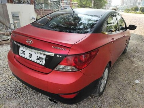 Hyundai Verna CRDi SX 2011 MT for sale in Hyderabad
