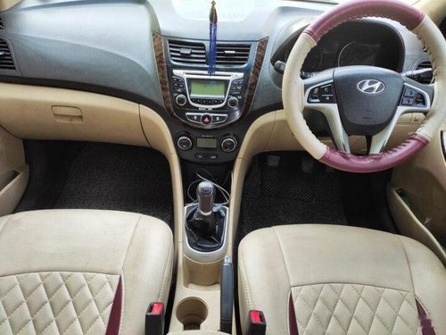 Used Hyundai Verna 2012 MT for sale in Hyderabad