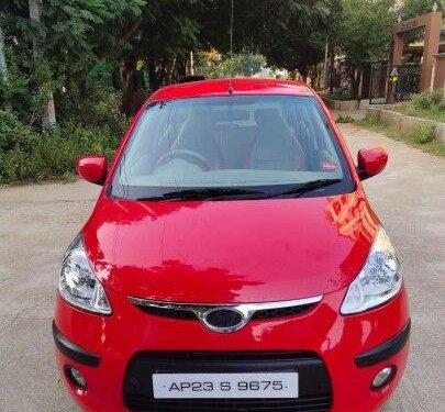 Hyundai i10 Sportz 2010 MT for sale in Hyderabad