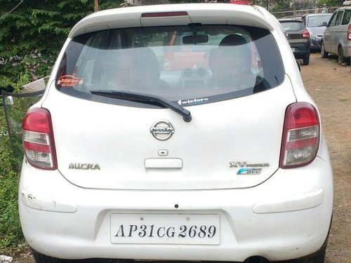 Used 2013 Nissan Micra MT for sale in Visakhapatnam