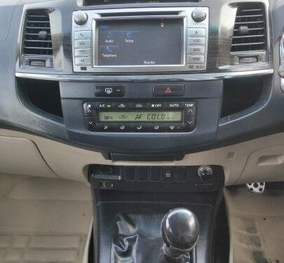 Used 2014 Toyota Fortuner 3.0 Diesel MT in Ahmedabad