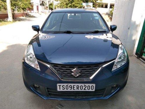 Used Maruti Suzuki Baleno Zeta 2016 MT for sale in Hyderabad