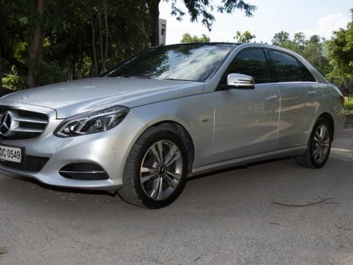 Used 2017 Mercedes Benz E Class AT for sale in New Delhi
